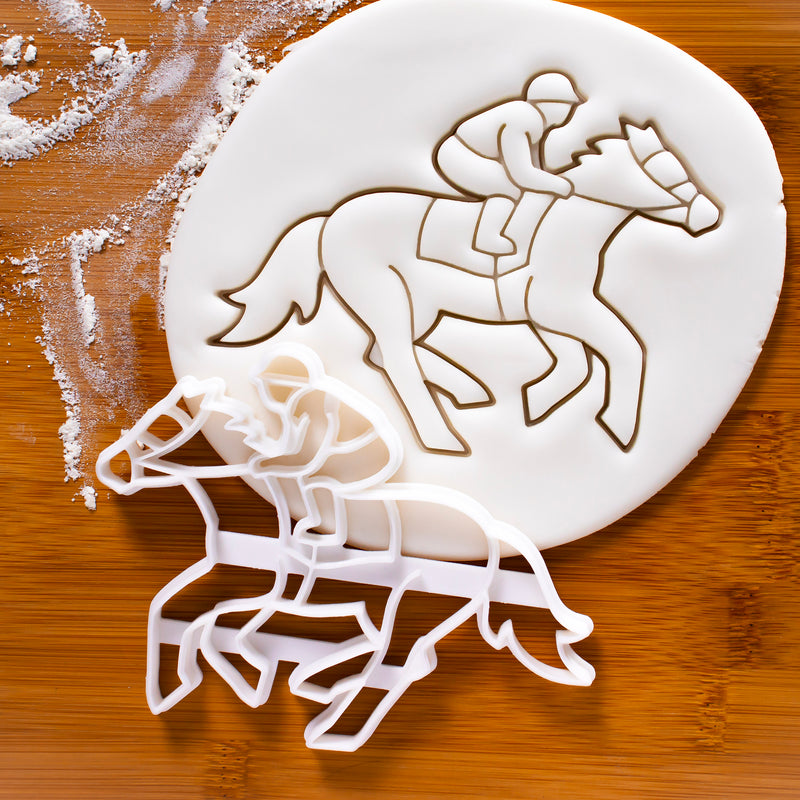 jockey cookie cutter