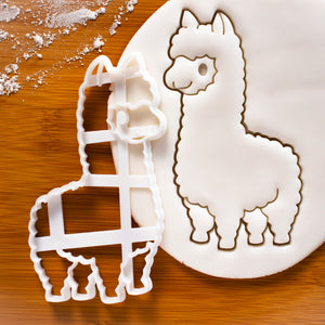 Cute Alpaca Cookie Cutter