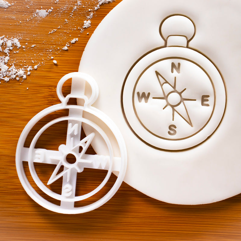 Compass Cookie Cutter
