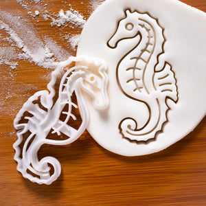 nautical seahorse cookie cutter