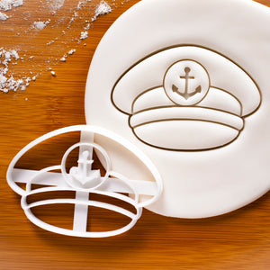 captain hat cookie cutter