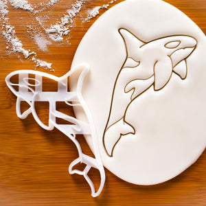 Orca cookie cutter