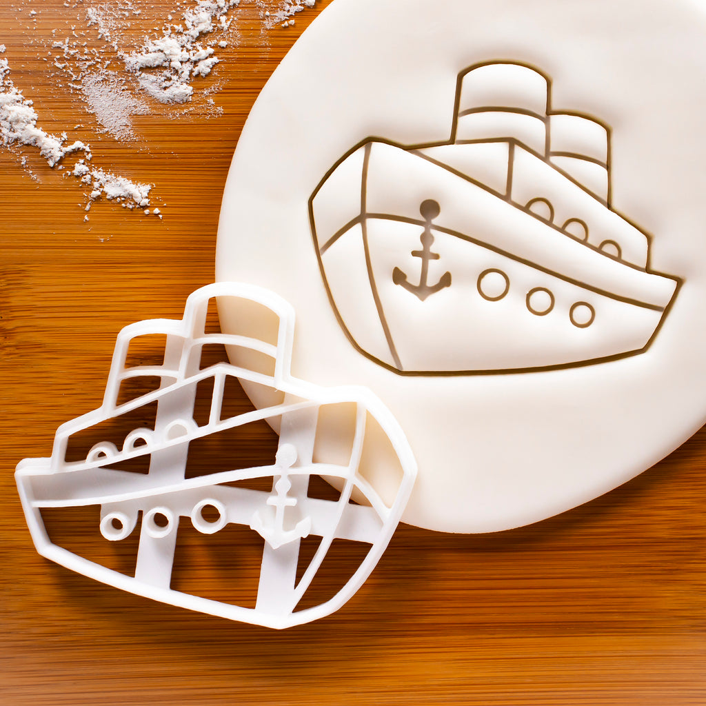 Ferry Ship Cookie Cutter