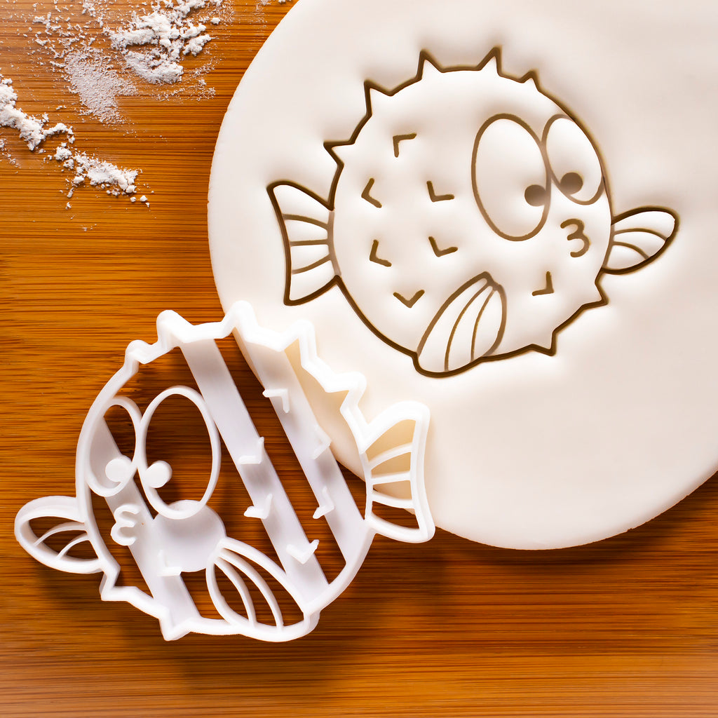 Pufferfish Cookie Cutter