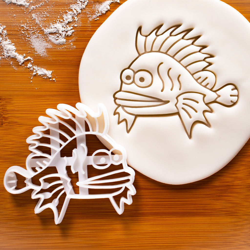 Lionfish Cookie Cutter