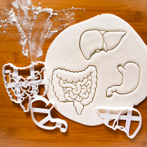 Intestines, Liver & Stomach Cookie Cutters