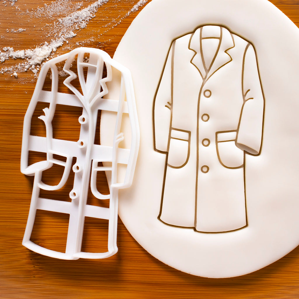 laboratory coat cookie cutter