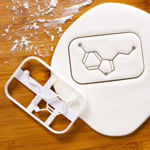serotonin molecule cookie cutter