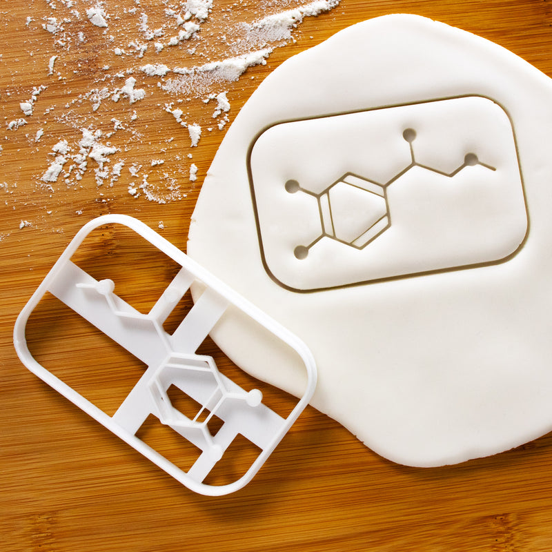 adrenaline molecule cookie cutter