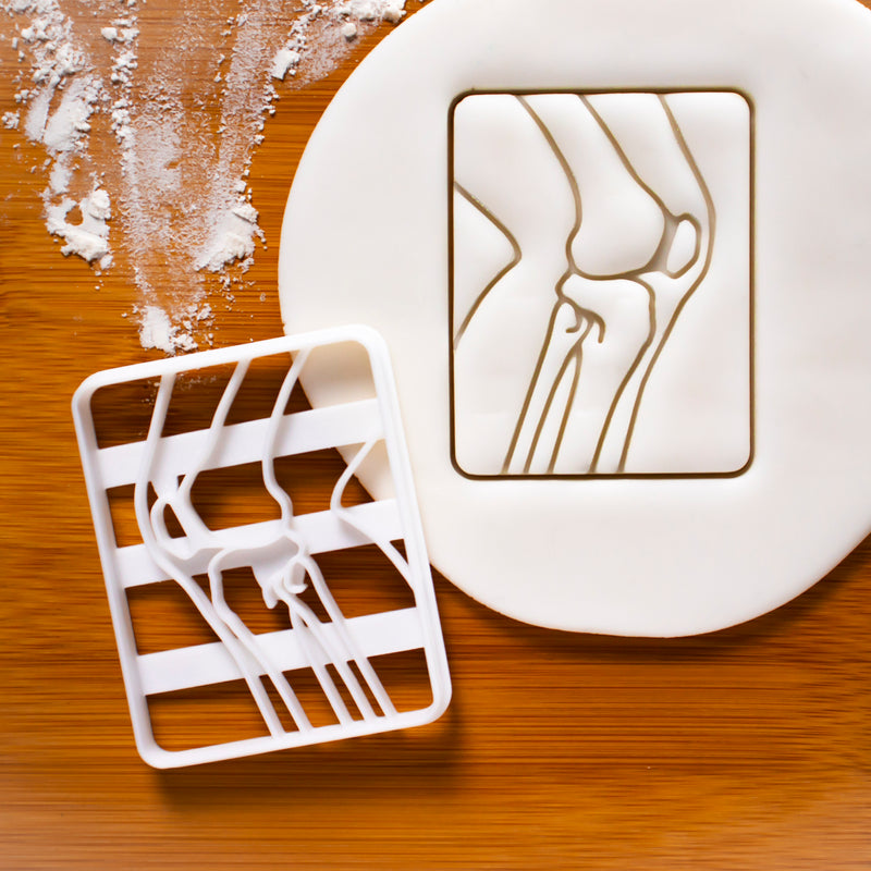 knee bone x ray cookie cutter