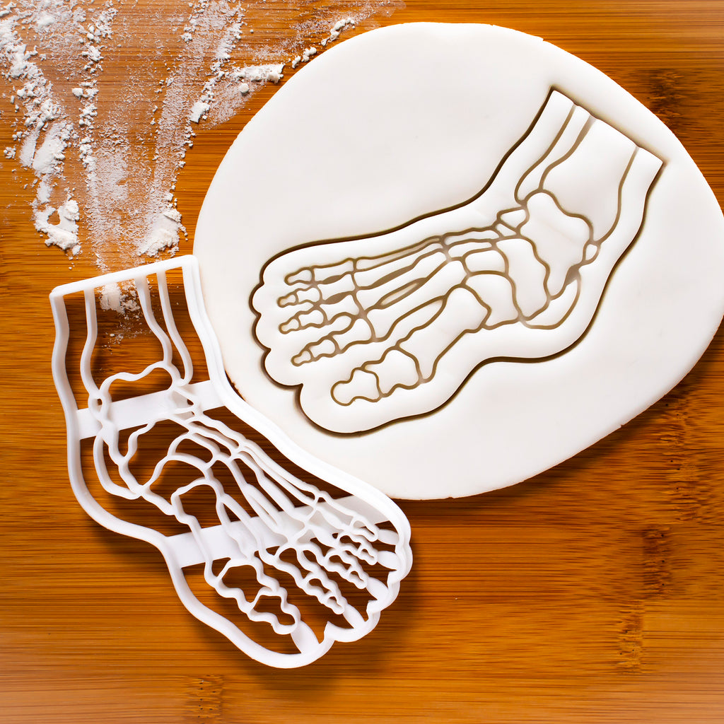 Anatomical Human Foot Cookie Cutter