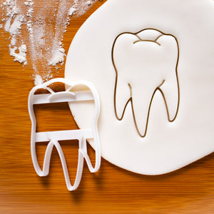 realistic tooth cookie cutter