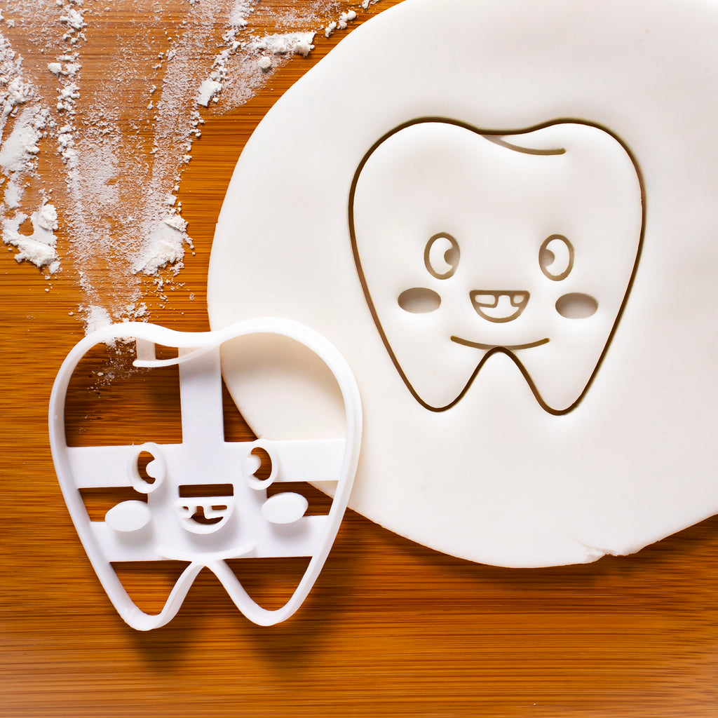 Cute Tooth Cookie Cutter