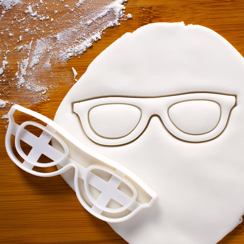 Spectacles Eyeglasses Cookie Cutter