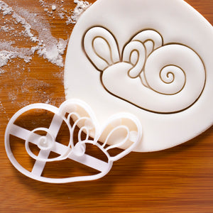 inner ear cochlea cookie cutter