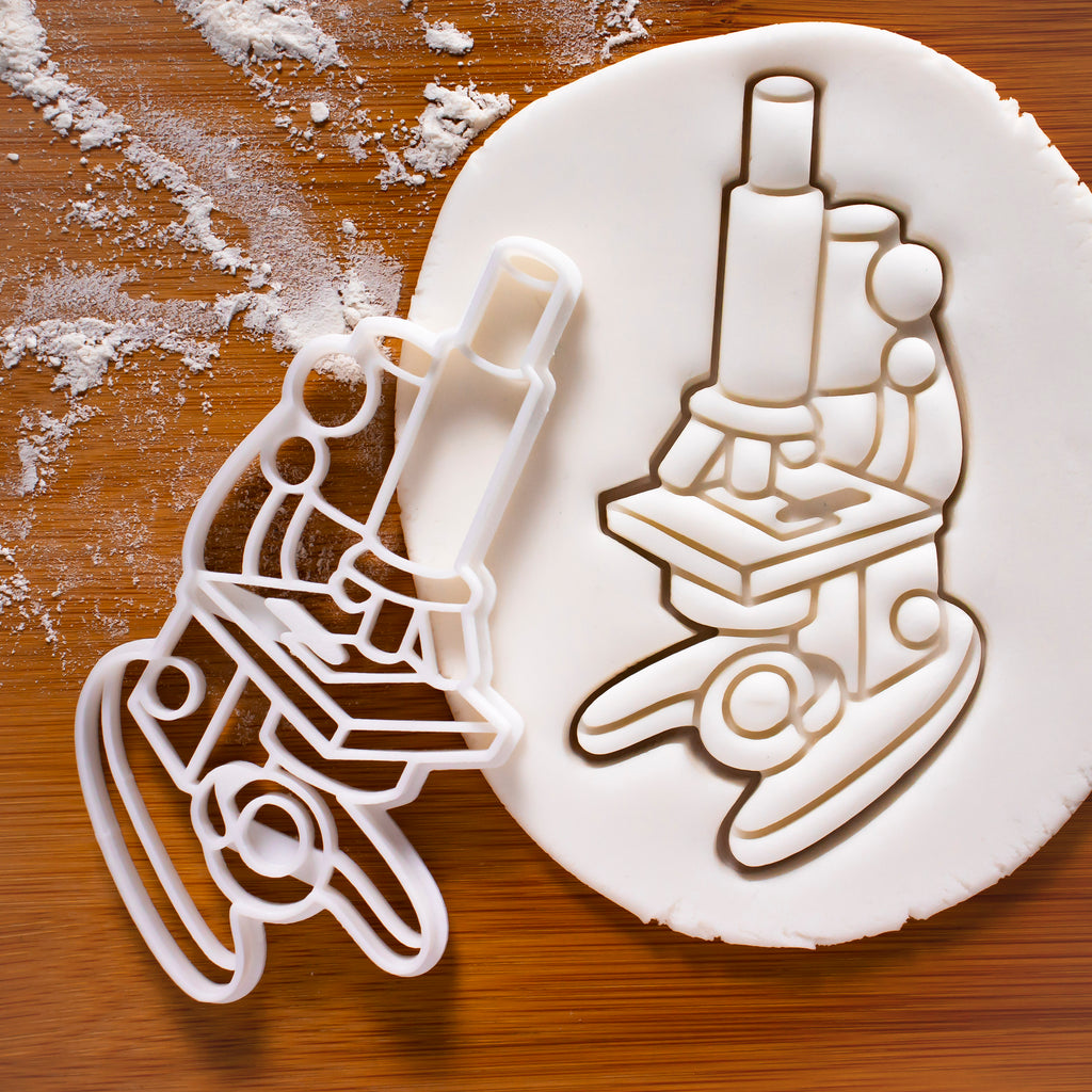microscope cookie cutter