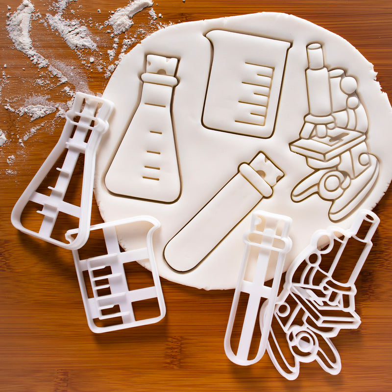 conical flask cookie cutter