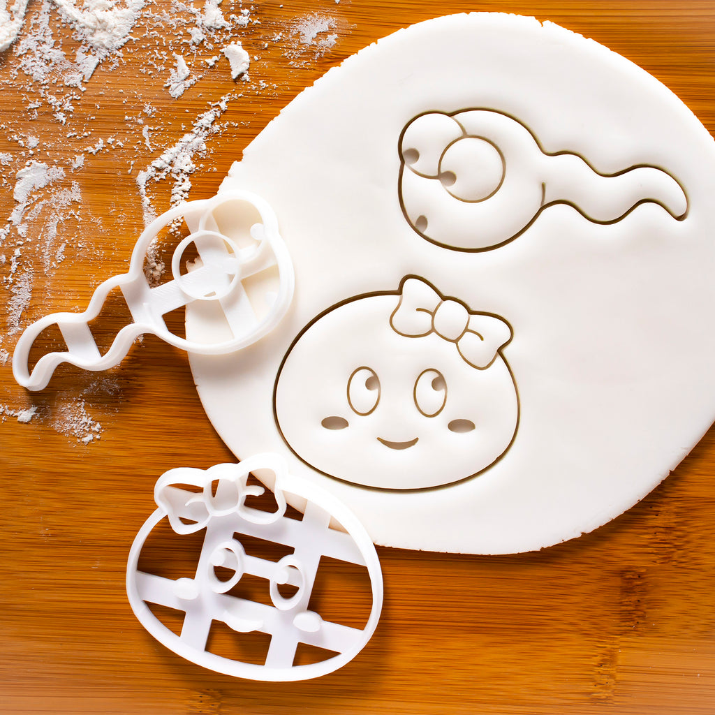 Sperm & Egg Cookie Cutters