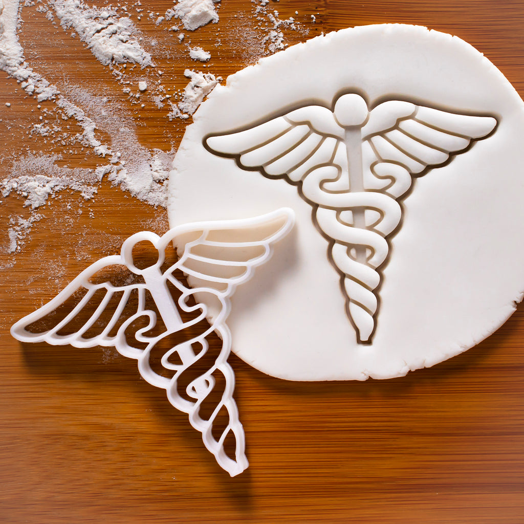 caduceus cookie cutter