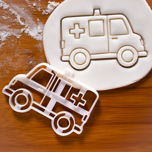 ambulance cookie cutter