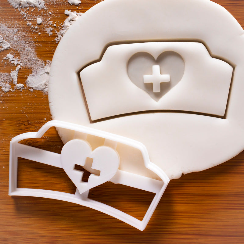 nurse hat cookie cutter
