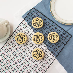 science atom cookies