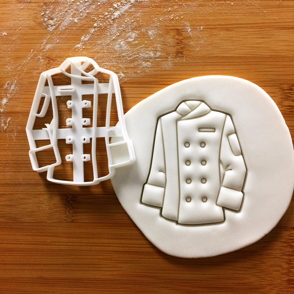 Chef's Jacket Cookie Cutter