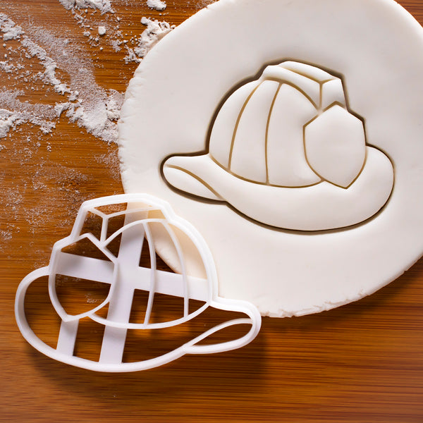 Firefighter Helmet Cookie Cutter