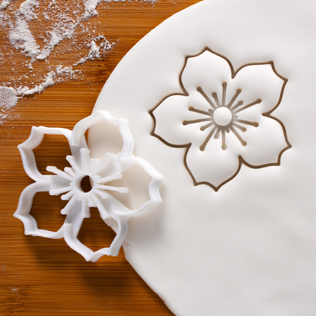 Sakura cherry blossom flower cookie cutter