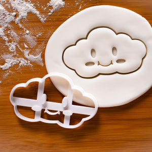 kawaii cloud cookie cutter