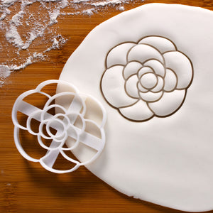 camellia flower cookie cutter