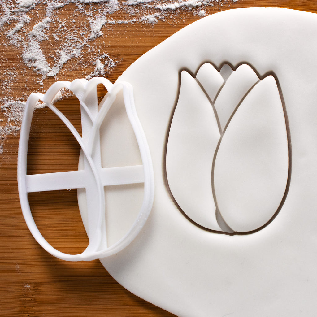Tulip flower Cookie Cutter