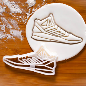 basketball sports shoe cookie cutter