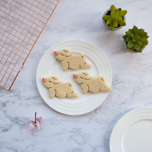 upward facing yoga pig cookies
