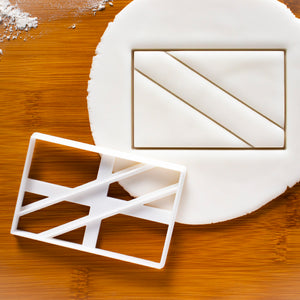 scuba diving flag cookie cutter