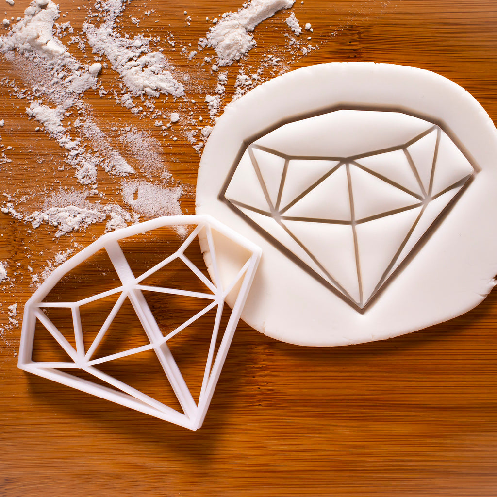 diamond cookie cutter