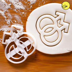 gay symbol cookie cutter