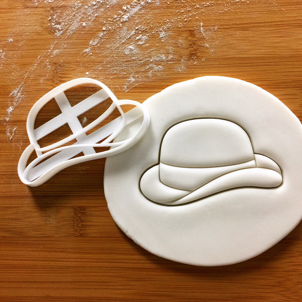 Bowler Hat Cookie Cutter