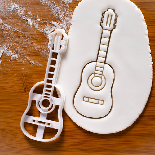 Acoustic Guitar Cookie Cutter