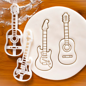 acoustic and electric guitar cookie cutters