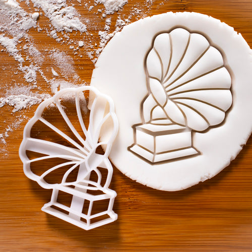 gramophone cookie cutter