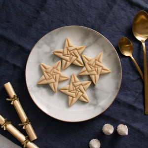 5 sided origami star style 1 christmas cookies