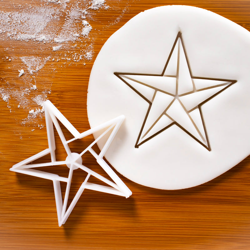 5 sided star cookie cutter (style 2)
