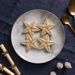 5 sided origami star style 2 christmas cookies