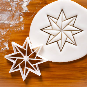 8 Sided Origami Star Cookie Cutter