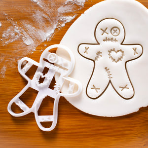 Voodoo gingerbread man cookie cutter
