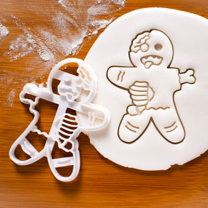 zombie gingerbread man cookie cutter