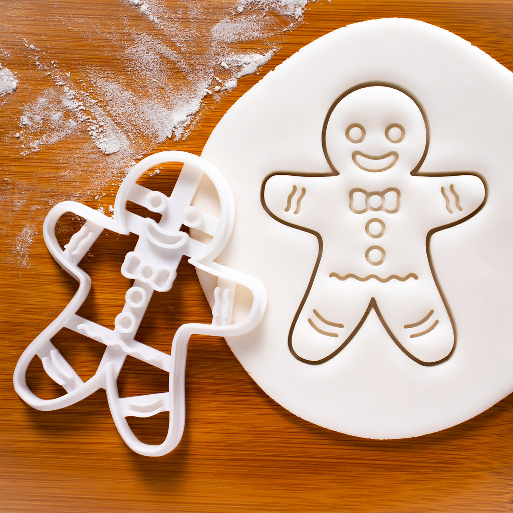 Happy Gingerbread Man Cookie Cutter