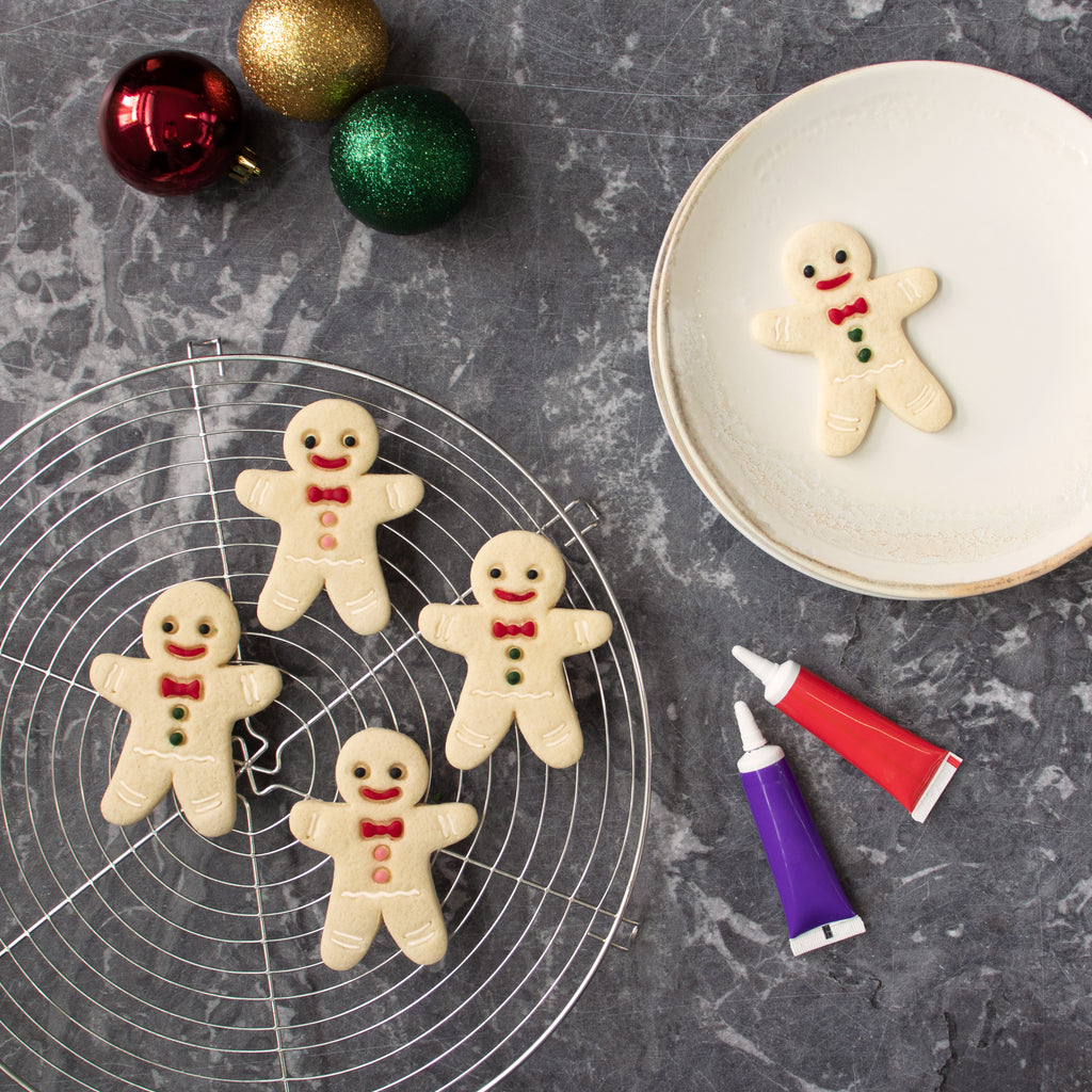 Happy Gingerbread Man Christmas Cookie Cutter