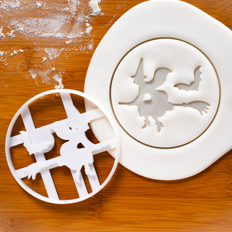 halloween witch cookie cutter